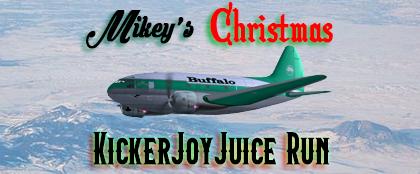 Mikey's Christmas Kickerjoyjuice run