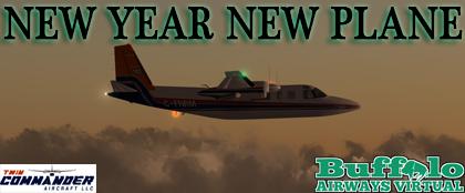 New Year New Plane