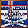 Scotland and Iceland Tour December 2012