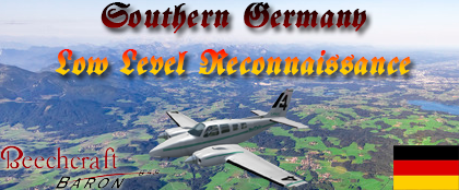 Southern Germany Low Level Reconnaissance