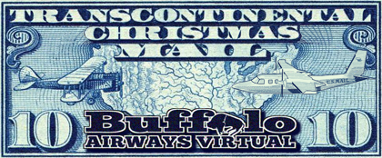 Transcontinental Christmas Mail