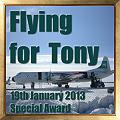 Flying for Tony Special Award