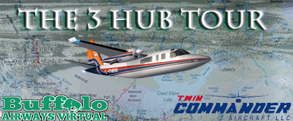 The 3 Hub Tour