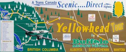 Yellowhead Positioning Flight