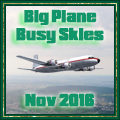 Awarded upon completion of Big Plane Busy Skies