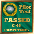 Pilot Competency Test Award for the C-46