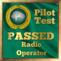 Given to pilots who pass the Radio Operators Exam.