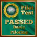 Given to pilots who complete the Basic Pilot Exam.